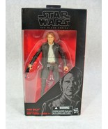 """STAR WARS BLACK SERIES 6"""" ACTION FIGURE HAN SOLO #18 FACTORY SEALED! - $24.74"""