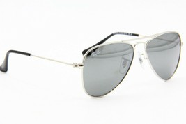 NEW RAY-BAN JUNIOR RJ 9506S 212/6G SILVER AUTHENTIC FRAME KIDS SUNGLASSE... - $41.33
