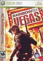 Tom Clancy's Rainbow Six: Vegas (Microsoft Xbox 360, 2006) DISC IS MINT - $3.82