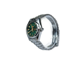Auth Orient 3 Stars Green Dial Day & Date Stainless Steel Automatic Ladies Watch - $155.48