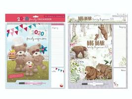 2020 Family Organiser Calendar Memo Pad Pen & Shopping List Pad in Hangi... - $8.16+