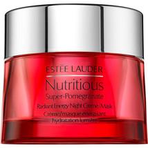 Estee Lauder Nutritious Super Pomegranate Radiant Energy Night Cream / Mask 50 m - $138.00