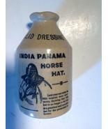 Salad Dressing Jug India Panama Pottery Made In England - $20.79