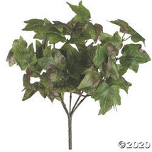"Vickerman 13"" Artificial Green Ivy Bush - 2/pk - $37.35"