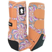 Classic Equine Legacy System Pinwheel Hind Sport Support Boots U-20PW - $109.99