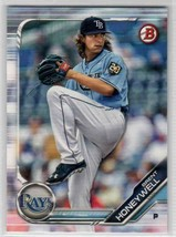 2019 Bowman Prospects Brent Honeywell #BP-88 Tampa Bay Rays - $0.99