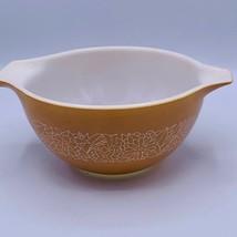 PYREX #441 Woodland Tan Beige Cinderella Bowl handles 750ml - $12.86