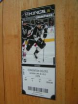 NHL 2013-14 Los Angeles Kings Champions Full Unused Ticket Stubs Lot - $3.95