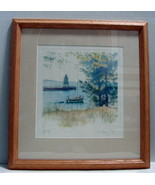 """Kathleen Chaney Fritz The Michigan Collection Original Print """"Four O' Cl... - $45.00"""
