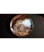 1989 The Snow Leopard Endangered Species Vintage Collectors Edition Plate - $45.00