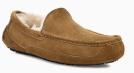 Mens UGG Ascot Moccasin Slippers - Chestnut Suede, Size 9 M US [1101110] - $119.99