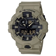 Casio Men's 'G Shock' Quartz Resin Casual Watch,Color:Beige (Model:GA-700UC-5ACR - $199.00