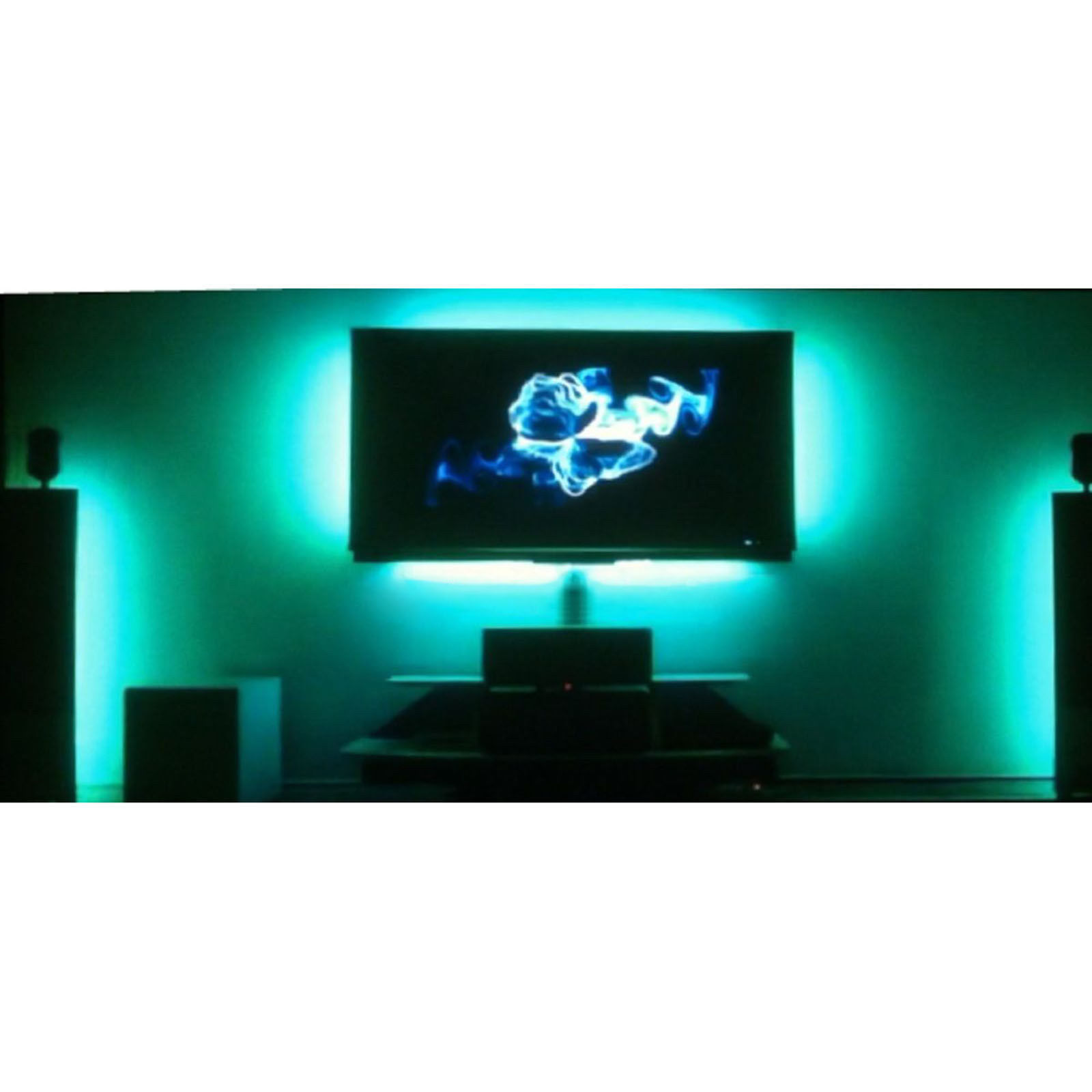 RGB LED LCD Pc Ambient Color Illuminate Tv Television Backlit Backlight Lighting - $49.95