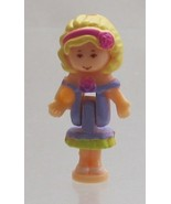 1996 Vintage Polly Pocket Dolls Sweet Roses - Polly Bluebird Toys - $7.00