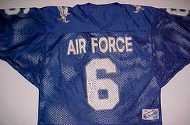 Air Force Falcons 6 NCAA Mountain West Conference Blue Mesh Football Jersey XL - $44.50