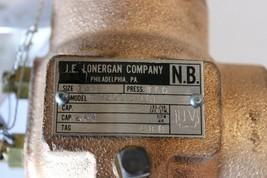 "J.E.LONERGAN 11W2001/2UBT Safety Relief Valve 1/2"" 110psi New image 2"
