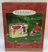 Hallmark Christmas Ornament 2000 Hopalong Cassidy Lunch Box Set - Set Of 2 - $12.16