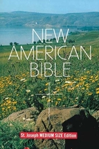 New American Bible - St. Joseph - Medium Size/Student Edition