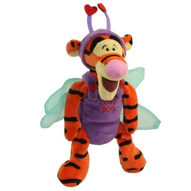 "Disney Bean Bag Dragonfly Tigger 9"" Love Bug #111641 - $18.99"