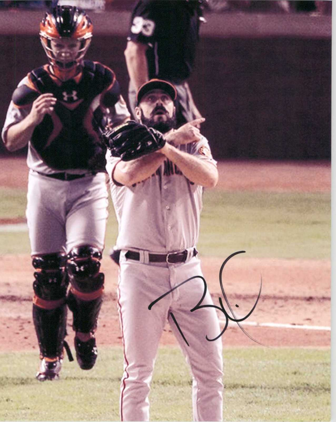 Primary image for Brian Wilson Signed Autographed Glossy 8x10 Photo - San Francisco Giants