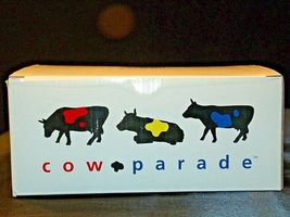 "Cows on Parade ""Big Apple"" Item # 9163 Westland Giftware Cow Parade AA-191813  V image 4"