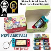 Nintendo Switch Console Shape Mario Game Keychain Keyring Girls Boys Cute Gift - $9.60+
