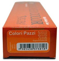 Tec Italy Designer Color, Colori Pazzi Orange / Naranja Haircolor 3 oz - $9.01
