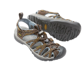 Keen Whisper Size 7 M (B) EU 37.5 Women's Sport Sandals Shoes Cascade St... - £48.67 GBP