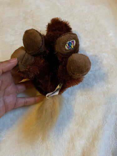 Ganz Lil Kinz Brown Plush Horse Stuffed Animal Toy Used Nice Condition