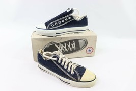 Vintage 90s Converse All Star Low Herren 4.5 W 6.5 Inside Out Denim Schuhe - $233.18