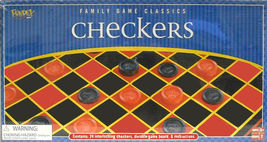 FUNDEX: CHECKERS GAME - NEW #ZFUN-2620 - $12.00