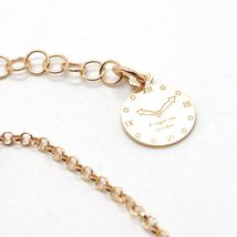 Silver Bracelet 925 Laminated in Rose Gold le Favole with Heart AG-905-BR-54 image 5