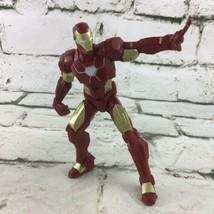 "Marvel Avengers Iron Man 5"" Posed Action Figure Comic Book Super Hero Toy  - $9.89"