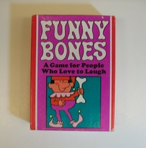 Parker Brothers Funny Bones: For People Who Love to Laugh 1968 Vintage Card Game - $6.90