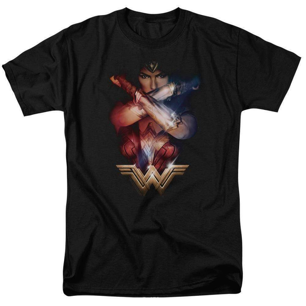 Wonder Woman t-shirt American superhero DC comics warrior graphic tee WWM129
