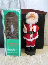 """18"""" Christmas Figurine with Motions & Candlelight Santa Claus - $24.95"""
