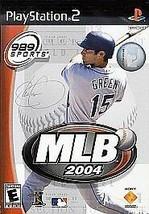 Mlb 2004 --- Playstation 2 PS2 w/ Original Box - $4.95