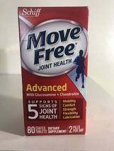 Schiff Move Free Advanced Glucosamine + Chondroitin Coated 80 Tablets  - $11.00