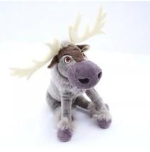 Sven Plush Frozen Disney Reindeer Gray Antlers Stuffed Animal Just Play ... - $6.72