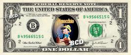 PINOCCHIO Movie - Real Dollar Bill Disney Cash Money Collectible Memorab... - $8.88