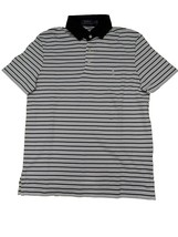 Polo Ralph Lauren Men's Pony Logo Striped Interlock Polo Shirt S M L XL XXL Wht - $54.95