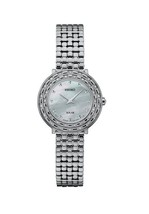 New Seiko Solar MOP Dial Stainless Steel Diamond Ladies Watch SUP373 - $446.25