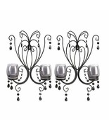 Decorative Wall Sconce, Midnight Elegance Candle Modern Wall Sconce Deco... - $44.87