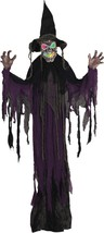 Witch Creepy Multi Color Robe Hanging Haunted House Prop FAST SHIP - €29,06 EUR