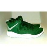 Nike Zoom Rev II Men's Green White Basketball Shoes Size 16.5 - $58.00