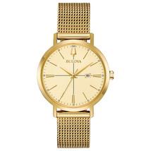 Bulova Women's Aerojet Watch Gold 35mm Stainless Steel 97M115 image 1