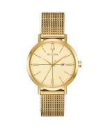 Bulova Women's Aerojet Watch Gold 35mm Stainless Steel 97M115 - $224.99