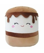 "Squishmallow Kellytoy 8"" Carmelita the S'more - $28.70"