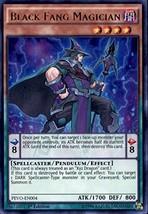 Yugioh 1st Ed Black Fang Magician PEVO-EN004 Ultra Rare 1st Edition Pend... - $1.69