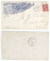 G H Slocum Anciet Order of Gleaners Caro Michigan 1902 Ohio Advertising ... - $5.99